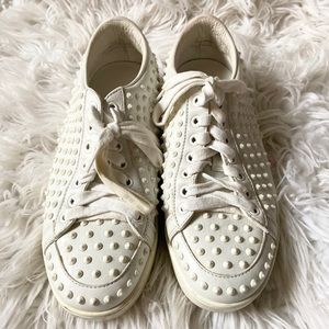 * gucci studded sneakers *